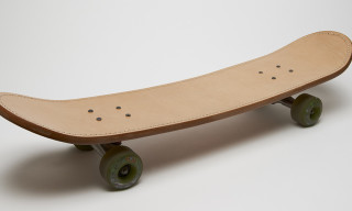 Hender Scheme Leather Skateboard Deck
