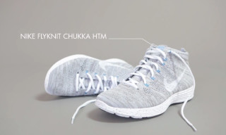 "IN MOTION | Nike HTM Lunar Flyknit Chukka ""Snow Style"""