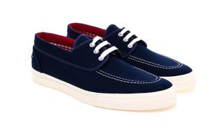 Junya Watanabe Canvas Boat Shoes