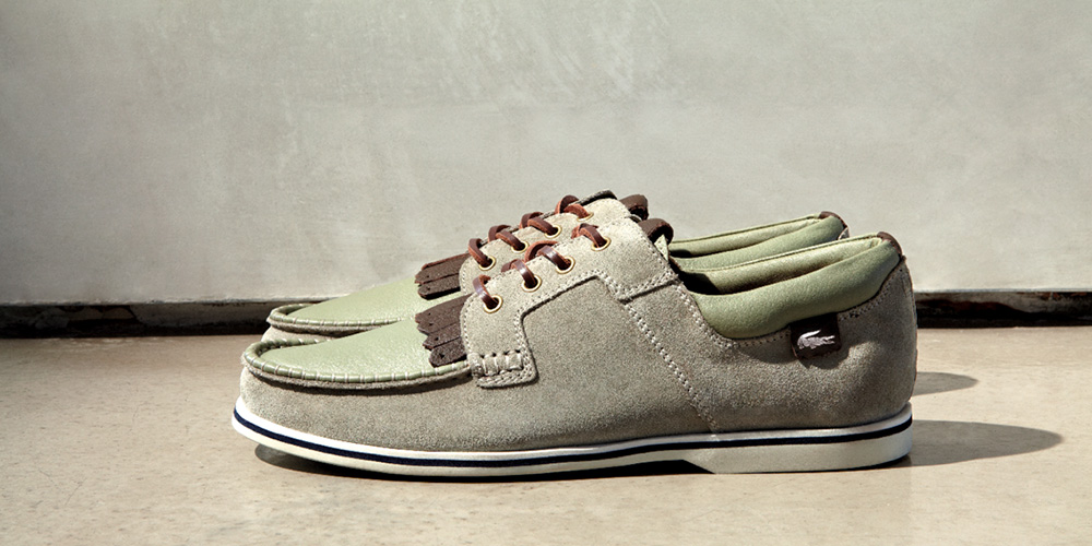 Lacoste LED Spring/Summer 2013 Footwear Lookbook ...