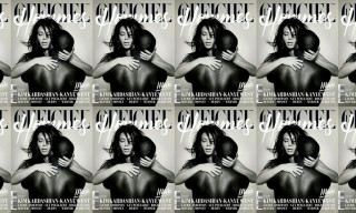 Kim Kardashian and Kanye West Pose Nude for L'Officiel Hommes