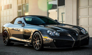 Mansory Presents The Carbon Fiber Mercedes SLR Renovatio