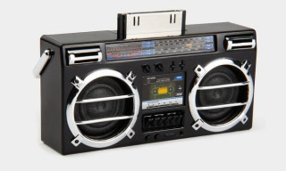 Mini Boombox Speaker for the iPhone and iPod