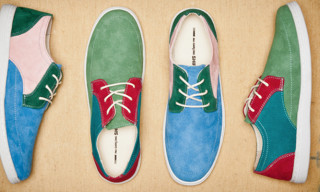 Pointer x COMME des GARCONS SHIRT Spring/Summer 2013 Colourblocked Sneakers