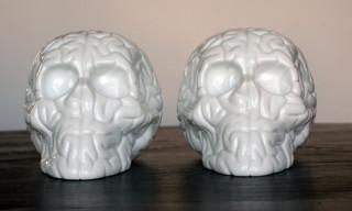 K.Olin tribu x Emilio Garcia Porcelain Skull Brain