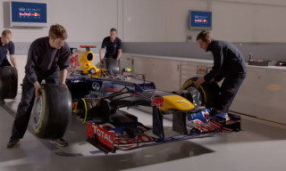 "Video: Red Bull Racing Team ""The Rythm of The Factory"""