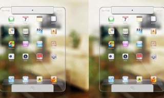 Stunning Transparent Apple iPad Concept