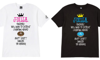 J. Dilla x Stussy World Tour T-Shirt