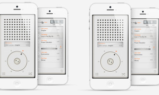 T3 Music Player App Inspired by Dieter Rams