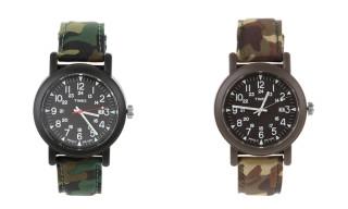 Timex Camper Camo Wrist Watch