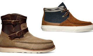 Vans Vault x Taka Hayashi Spring 2013 – TH Cornice LX & TH Engineer Boot Zip LX