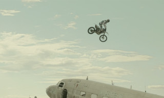 Watch Robbie Maddison Destroy an Airplane Graveyard for DC Shoes