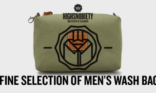 Buyer's Guide: A Fine Selection Of Men's Wash Bags