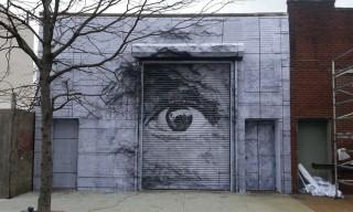 JR x Daniel Arsham's New Mural in New York City