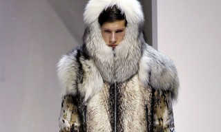 Moncler Gamme Rouge Fall 2013 Collection – Wolves & Polar Bears on the Runway