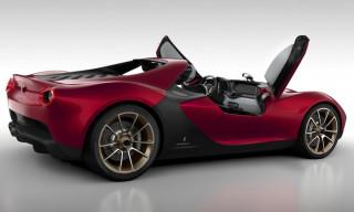Pininfarina-Ferrari Sergio Window-Less Concept Supercar