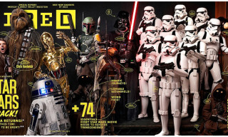 "'Star Wars' Covers the Latest Issue of ""Wired"" – Shot by Art Streiber"