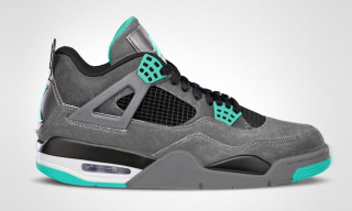 "Air Jordan IV Retro ""Green Glow"""