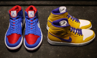 Air Jordan 1 Mid: Pistons and Lakers