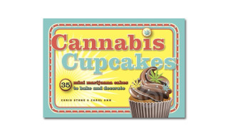 "Bake and Decorate 35 Mini Marijuana Cupcakes with ""Cannabis Cupcakes"" Book"