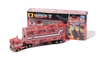 Bape x Transformers Red Camo Convoy & Capsule Collection