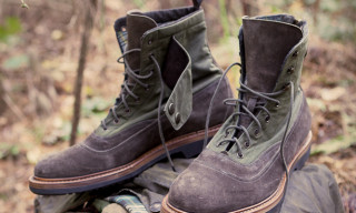 Barbour x Forest Of Gingko – Boots Made From Recycled Wax Jackets