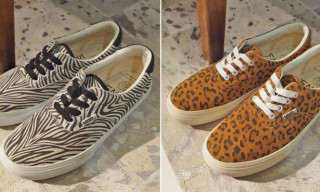 Beauty & Youth x Vans Era Animal Pack