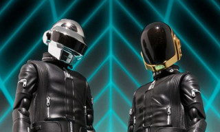 Daft Punk Action Figures by S.H. Figuarts