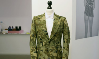 Dries Van Noten Camouflage Blazer