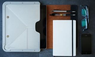 Fine Grain Bowden Minimalist iPad Case