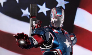 Iron Man 3: Iron Patriot 1/6th Scale Diecast Figure by Hot Toys