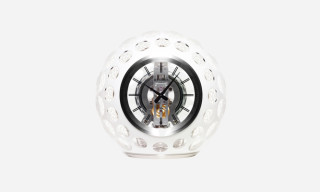 "Hermés x Jaeger LeCoultre ""Atmos"" Crystall Glass Clock"