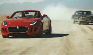 Video: Jaguar F-Type Presents 'DESIRE' Trailer – a Movie by Ridley Scott