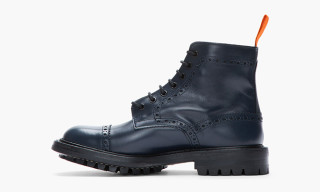 Junya Watanabe Leather Quarter Brogue Super Boots