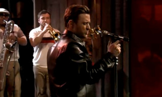 """Justin Timberlake Performs """"Pusher Love Girl"""" on Late Night with Jimmy Fallon"""