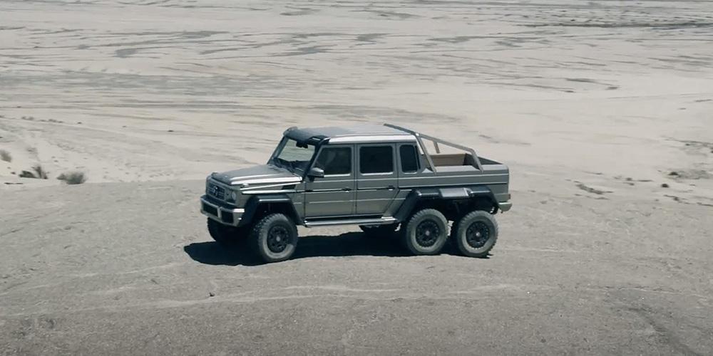 Mercedes benz g63 amg 6x6 highsnobiety for Mercedes benz g63 amg 6x6 price