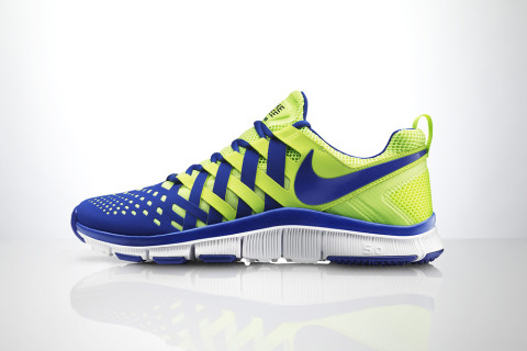 """Designed as """"one of the most versatile training shoes,"""" the men's Nike Free  Trainer 5.0 delivers lightweight comfort and support with a distinctive  look for ..."""