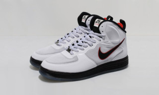 Nike Lunar Force 1 Mid White/Black/University Red