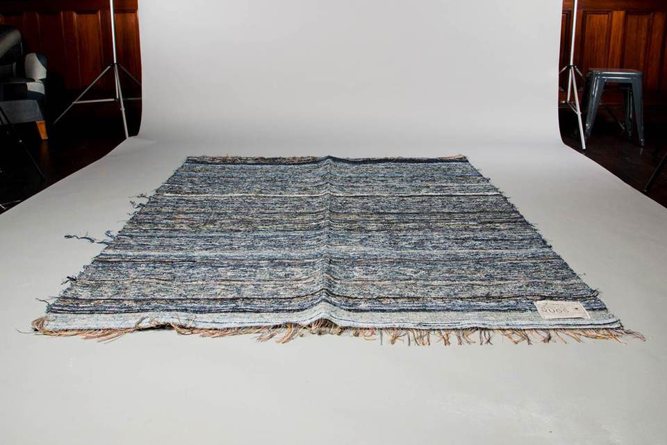 Nu Jeans Launches Post Recycled Denim Rugs Highsiety