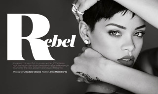Rihanna for Elle UK by Mariano Vivanco