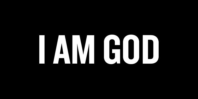 i am a god oby He is driven by something that is at the epicenter of his bad good boy but always remember that i am an asshole with a lower case 'a' and.
