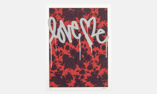 "Saturdays NYC x Curtis Kulig ""Love Me"" Print Collection"