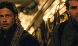 """Watch the New """"World War Z"""" Trailer Starring Brad Pitt"""