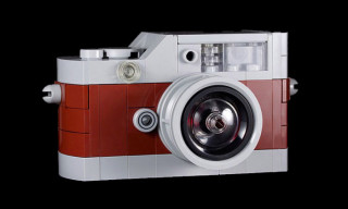 Leica M9-P Hermes Edition Camera LEGO Replica