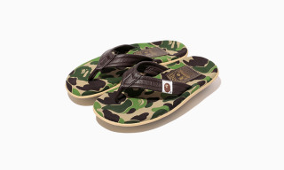 A Bathing Ape x Island Slipper ABC THONG Sandal