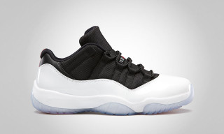 Air Jordan 11 Retro Low White/Black – True Red