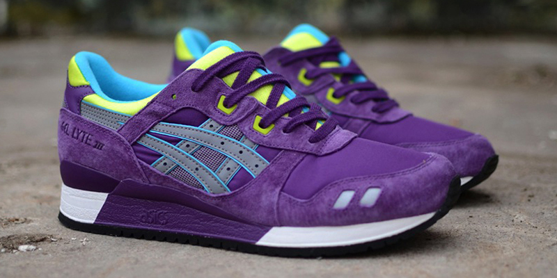 asics gel lyte 3 purple