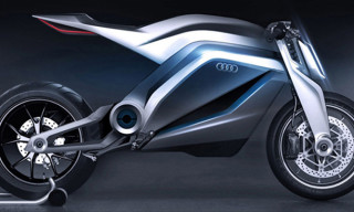 Audi Motorrad Motorcycle Concept by Thibault Devauze