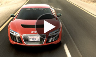 Watch the Audi R8 e-tron Ad for 'Iron Man 3'