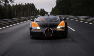 Bugatti Veyron Grand Sport Vitesse Sets World Record for Fastest Open-Top Car